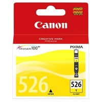 Canon CLI-526Y (Yellow / Geltona) rašalinė kasetė, 520 psl.