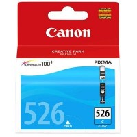 Canon CLI-526C (Cyan / Žydra) rašalinė kasetė, 520 psl.