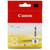 Canon CLI-8Y (Yellow / Geltona) rašalinė kasetė, 14ml. 420 psl.