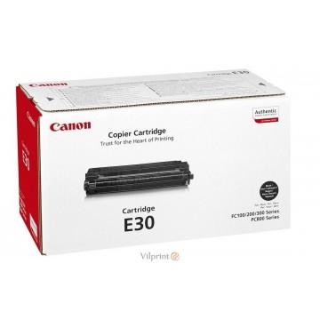 Canon E-30 (Black / Juoda) tonerio kasetė, 3000 psl.