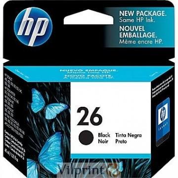 HP 51626A (Nr. 26, Black / Juoda) rašalinė kasetė, 800 psl.