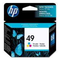 HP 51649A (Nr. 49, Color / Spalvota) rašalinė kasetė, 350 psl.