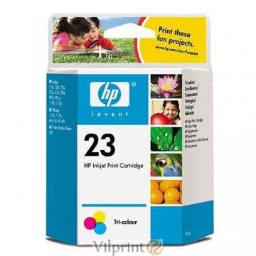 HP C1823D (Nr. 23, Color / Spalvota) rašalinė kasetė, 370 psl.