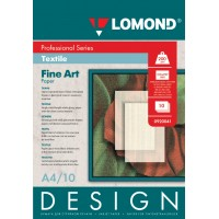 """Lomond A4, 200g/m2, 10 lapų, """"Design Textile"""" vienpusis, blizgus tekstūrinis fotopopierius (Fine Art Paper Design Textile Glossy / kodas: 0920041)"""
