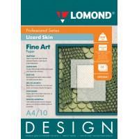 """Lomond A4, 200g/m2, 10 lapų, """"Design Lizard"""" vienpusis, matinis tekstūrinis fotopopierius (Fine Art Paper Design Lizard Matt / kodas: 0925041)"""