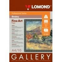 Lomond A4, 165g/m2, 10 lapų, Fine-Grainy Natural White, rašaliniam spausdintuvui (kodas: 0912041)
