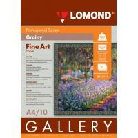 Lomond A4, 180g/m2, 10 lapų, Fine-Grainy Natural White DS, dvipusis, rašaliniam spausdintuvui (kodas: 0912141)