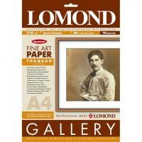 Lomond A4, 215g/m2, 10 lapų, Smooth Natural White DS Archive, dvipusis matinis, glotnios strūkturos fotopopierius (kodas: 0910241)