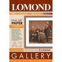 Lomond A3, 200g/m2, 20 lapų, Extra Smooth Extra White DS, dvipusis matinis glotnios strūkturos fotopopierius (kodas: 0910132)