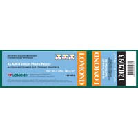 Lomond 1067mm x 30m, 180g/m2, ruloninis matinis fotopopierius (XL Photo Paper Matt CAD&GIS / kodas 1202093)