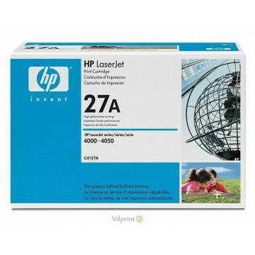 HP C4127A (Nr. 27A, Black / Juoda) tonerio kasetė, 6000 psl.