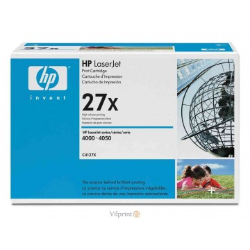 HP C4127X (Nr. 27X, Black / Juoda) tonerio kasetė, 10000 psl.