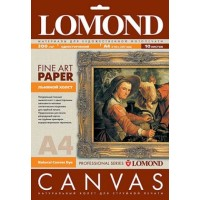 Lomond A3, 300g/m2, 20 lapų, vienpusė natūrali lininė drobė (Natural Linen Canvas for dye based inks / kodas: 0908312)