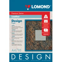 "Lomond A4, 230g/m2, 10 lapų, ""Design Premium Leather"" vienpusis, blizgus tekstūrinis fotopopierius (Fine Art Paper Design Premium Leather Glossy / kodas: 0918141)"