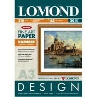 "Lomond A3, 210g/m2, 20 lapų, ""Hammer"" vienpusis, matinis tekstūrinis fotopopierius (Fine Art Paper Gallery Hammer / kodas: 0916032)"