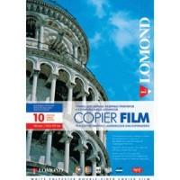 Lomond A4, 100mic, 10 lapų, skaidri plėvelė rašaliniams spausdintuvams (PET Film for inkjet printers /kodas 0708411)