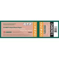Lomond 914mm x 45m, 105g/m2, ruloninis matinis fotopopierius (XL Photo Paper Matt CAD&GIS / kodas 1202052)