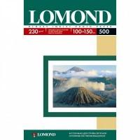 Lomond A6, 230g/m2, 500 lapų, vienpusis blizgus fotopopierius (Single Sided Glossy Inkjet Photopaper / kodas: 0102082)