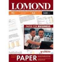 Lomond A4, 90g/m2, 500 lapų, vienpusis matinis fotopopierius (Single Sided Matt Inkjet Photopaper / kodas: 0102131)