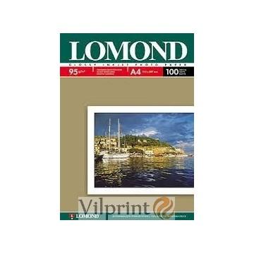 Lomond A4, 95g/m2, 500 lapų, vienpusis blizgus fotopopierius (Single Sided Glossy Inkjet Photopaper / kodas: 0102146)