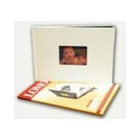 "Lomond A4 ""Mano knyga"" viršelio komplektas fotoalbumui (baltas) (kodas: 1510018)"