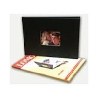 """Lomond A4 """"Mano knyga"""" viršelio komplektas fotoalbumui (juodas) (kodas: 1510019)"""