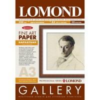 Lomond A3, 290g/m2, 20 lapų, Fine-Archive Natural White, Velour, Bright, rašaliniam spausdintuvui (kodas: 0911332)