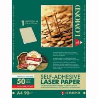 Lomond A4, 90g/m2, 50 lapų, auksinės spalvos, lipnus popierius lazeriniams spausdintuvams (CLC Paper for color laser printers Gold Self Adhesive / kodas 2050005)