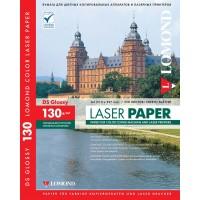 Lomond A4, 130g/m2, 250 lapų, dvipusis blizgus fotopopierius spalvotiems lazeriniams spausdintuvams (CLC Paper for color laser printers Glossy DS / kodas: 0310141)