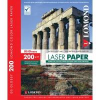 Lomond A4, 200g/m2, 250 lapų, dvipusis blizgus fotopopierius spalvotiems lazeriniams spausdintuvams (CLC Paper for color laser printers Glossy DS / kodas: 0310341)