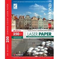 Lomond A4, 250g/m2, 150 lapų, dvipusis blizgus fotopopierius spalvotiems lazeriniams spausdintuvams (CLC Paper for color laser printers Glossy DS / kodas: 0310441)
