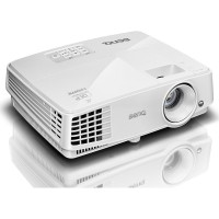 BenQ MW526 projektorius Baltas DLP 3D Ready WXGA 1280x800 3200 ANSI Lumens 13'000:1 VGA/HDMI Speaker 2Wx1 Lamp 190W 4500/6500 hours
