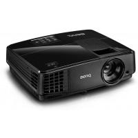 BenQ MX505 projektorius black, DLP 3D Ready; XGA 1024x768; 13'000:1, 3000 Lumens; lamp 190W, 4500/6000 h.(normal/eco), VGAx2