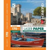Lomond A4, 170g/m2, 250 lapų, dvipusis matinis fotopopierius spalvotiems lazeriniams spausdintuvams (Matt DS / kodas: 0300241)