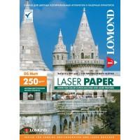 Lomond A4, 250g/m2, 150 lapų, dvipusis matinis fotopopierius spalvotiems lazeriniams spausdintuvams (Matt DS / kodas: 0300441)