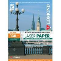Lomond A4, 130g/m2, 250 lapų, dvipusis matinis fotopopierius spalvotiems lazeriniams spausdintuvams (Matt DS / kodas: 0300542)