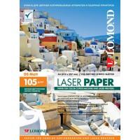 Lomond A4, 105g/m2, 250 lapų, dvipusis matinis fotopopierius spalvotiems lazeriniams spausdintuvams ( Matt DS / kodas: 0300641)