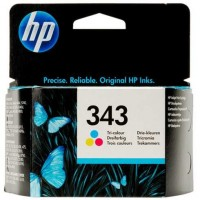 HP C8766EE (Nr. 343, Color / Spalvota) rašalinė kasetė, 330 psl.