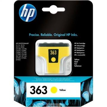 HP C8773EE (Nr. 363, Yellow / Geltona) rašalinė kasetė, 350 psl.