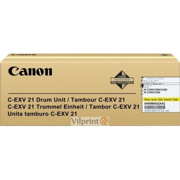 Canon C-EXV21 (Yellow / Geltonas) drum / būgno mazgas, 53000 psl.