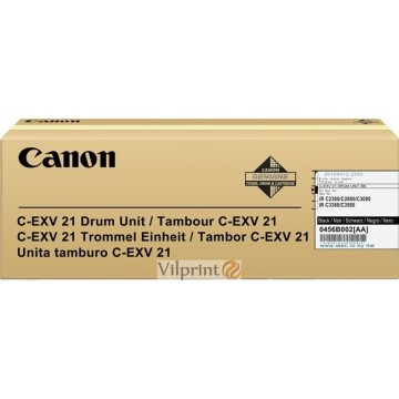 Canon C-EXV21 (Black / Juodas) drum / būgno mazgas, 77000 psl.