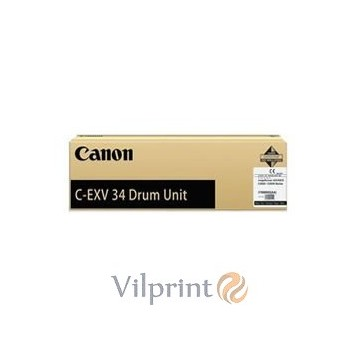 Canon C-EXV34 (Black / Juodas) drum / būgno mazgas, 43000 psl.
