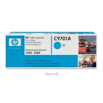 HP C9701A (Nr. 121A, Cyan / Žydra) tonerio kasetė, 5000 psl.