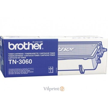 Brother TN-3060 (Black / Juoda) tonerio kasetė, 6700 psl.