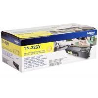 Brother TN-326Y (Yellow / Geltona) tonerio kasetė, 3500 psl.