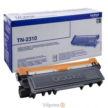 Brother TN-2310 (Black / Juoda) tonerio kasetė, 1200 psl.