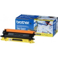 Brother TN-135Y (Yellow / Geltona) tonerio kasetė, 4000 psl.