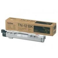 Brother TN-12BK (Black / Juoda) tonerio kasetė, 8500 psl.