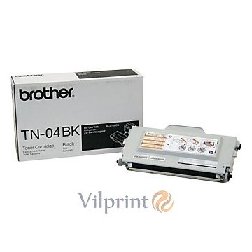 Brother TN-04BK (Black / Juoda) tonerio kasetė, 10000 psl.