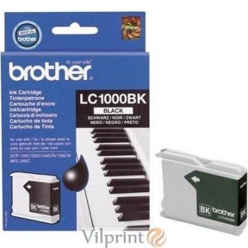 Brother LC1000BK (Black / Juoda) rašalinė kasetė, 500 psl.